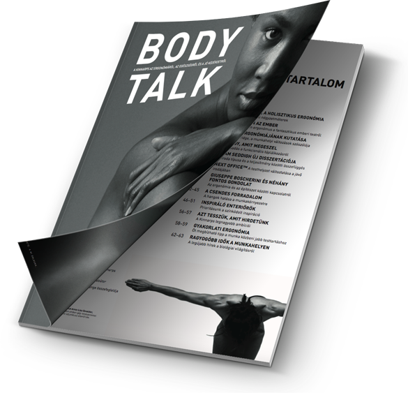 Body Talk ergonómiai magazin